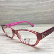 6b976f3bfb Coach Cecilia HC 6002 Eyeglasses Burgundy 5054 Authentic 49mm