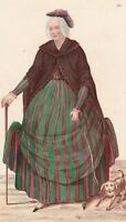 Directoire Costume Dame 1793 XVIIIe siècle