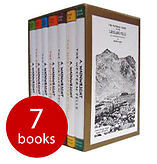 Wainwright Pictorial Guides To The Lakeland Fells,  Box Set of 7 Hardbacks. NEW