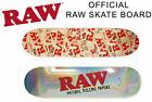 1X ORIGINAL RAW CLASSIC NATURAL UNREFINED ROLLING PAPER SKATEBOARD 32'' LONG NEW