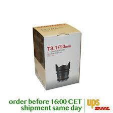 Samyang 10mm T3.1 VDSLR ED AS NCS CS II for Canon EF