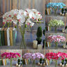 Butterfly Orchid Phalaenopsis Silk Flower Home Wedding Decor Simulation Bouquet