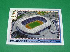 N°15 YOKOHAMA STADE WORLD CUP PANINI FOOTBALL JAPAN KOREA 2002 COUPE MONDE FIFA