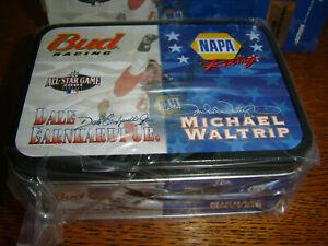 Dale Jr. & Michael Waltrip #8 & #15 (2) Car Tin 2001 MLB/NAPA Action 1/64 New