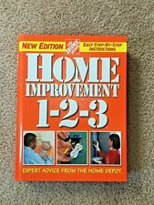 Home Improvement 1-2-3: Expert Advice from the Home Depot Hardcover Fix Repair