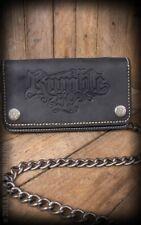 Cartera Piel - Leather Wallet Rumble 59 - Black
