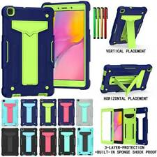 """For Samsung Galaxy Tab A 8"""" 10.1"""" T290 T515 Hybrid Hard Rubber Stand Case Cover"""