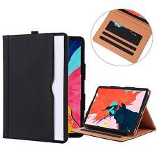 Premium Executive Portfolio Leather Case Document Organizer for iPad Pro 11-inch