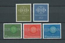 EUROPA CEPT ALLEMAGNE - 1959 YT 193 à 194 et 1960 YT 210 à 212 - NEUFS** LUXE
