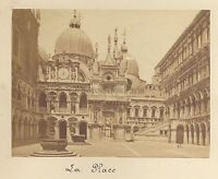 Venezia Place Italia Vintage Albumina Ca 1875