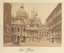 Venise Place Italie Vintage albumine ca 1875
