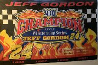 NASCAR Jeff Gordon 2001 4ft X 6ft Flag - #24