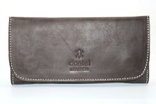 Soft Genuine Smoke Tobacco Pocket Pouch Case Real Leather Lining Rolling Pocket