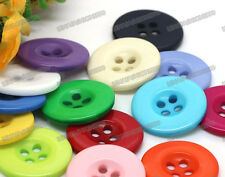 Free 150pcs lots 15color Resin assorted mixed Sewing flatback Buttons 20mm 0.79