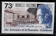 New Caledonia Sc603 Writer Jean Mariotti, Imperf.