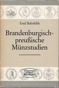 """Brandenburgisch-preußische Münzstudien, 18 Aufsätze aus """"Berliner Münzblättern"""""""