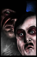 The Undertaker & Paul Bearer Wrestling Glossy Art Print 8x10 Inches Numbered