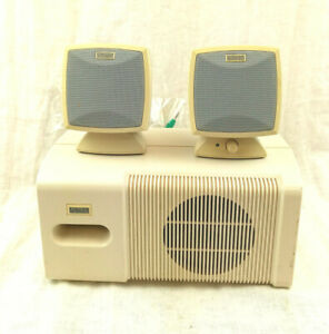 Altec Lansing Computer Speaker System With Subwoofer ACS44 - Tested Working