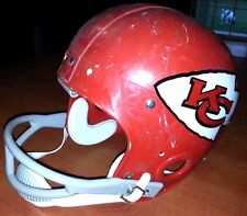 Kansas City Chiefs 1974 Vintage Riddell FOOTBALL HELMET Throwback Decal(7 3/8)