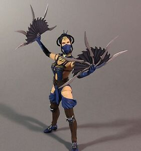 "KITANA Series 2 Mortal Kombat X 6"" Collectible Action Figure Brand New Mezco"