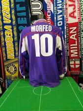 Maglia Calcio Fiorentina Home 2001/02 Size L Morfeo 10 Mizuno Toyota Italy