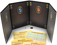 The Master's Tome Customizable DM Screen, Black w/ 4 Art Inserts