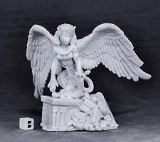 Reaper Miniatures Female Sphinx#77576 Bones Unpainted Plastic RPG Mini Figure
