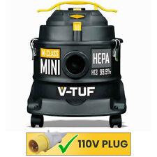 V-Tuf Mini 110 M-Clase De Polvo Extractor Aspiradora 110V con Accesorios Kit