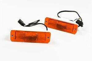 ARB Bullbar Orange Amber Indicators Lights Blinkers Pair 135 x 38mm Turn Signal