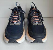Hoka One One Bondi 6 Size 10.5 Wide Women's Running Training Shoes Marlin/blue