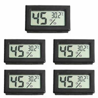 5x Thermometer Hygrometer Humidity Meter LCD Digital Temperature Home Gauge Mini