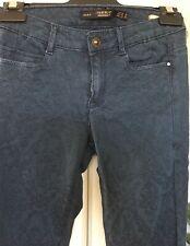 """""""ZARA"""" Trafaluc Navy Womens Skinny Jeans Size 24"""""""