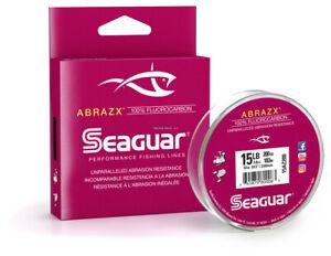 Seaguar 06AX200 AbrazX 100% Fluorocarbon Main Line 6lb 200yd
