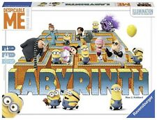 NEW - SEALED DESPICABLE ME MINIONS MADE LABYRINTH BOARD GAME PUZZLE RAVENSBURGER