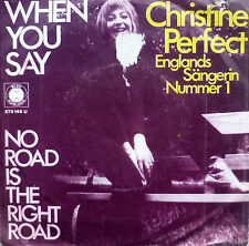 "7"" 1969 RARE VG+? CHRISTINE PERFECT (= FLEETWOOD MAC ) When You Say"