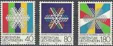 Timbres Sports d'hiver JO Liechtenstein 775/7 ** lot 6362