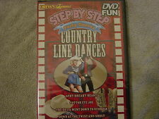 Drew's Famous STEP BY STEP COUNTRY LINE DANCES: LEARN LINE DANCING PARTY DVD NEW