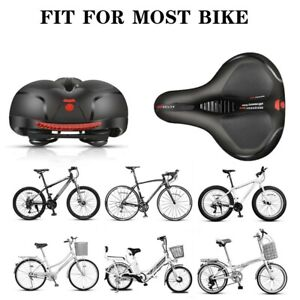 5-1x Waterproof Memory Foam Bicycle Seat Cushion Bicycle With Reflective Outdoor