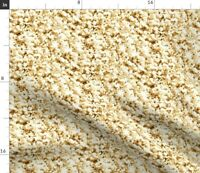 Popcorn Photographic Spoonflower Fabric by the Yard
