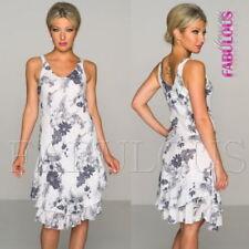 Unbranded V-Neck Dresses A-Line
