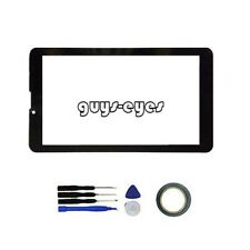 """New Digitizer Touch Screen Panel For IRULU XPRO X2S HD 7"""" XPRO Tablet"""