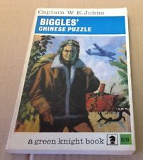 Biggles Chinese Puzzle Captain W. E. Johns Paperback 1967 1st edition