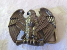 Tone Belt Buckle Avon Eagle Brass