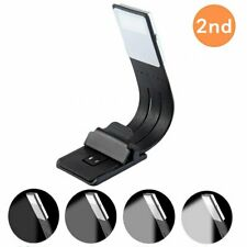 Rechargeable LED Flexible Book Reading Lamp Light Adjustable Clip Magnetic Base