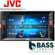 "VW T5/T5.1 JVC 6.2"" Double Din Bluetooth CD DVD USB iPhone Screen & Fitting Kit"