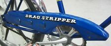 New Iverson Drag Stripper DECAL STICKER for Banana Muscle Bike Bicycle