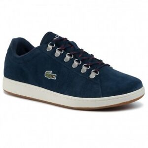 Lacoste Carnaby Evo 319 3 mens navy  leather trainers **RRP:£85.00**