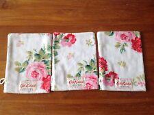 NEW Limited Edition ⭐️CATH KIDSTON⭐️Antique Rose White Wash Mitt⭐️Cloth Towel