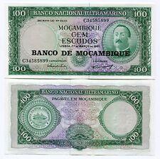 Portugal Mozambique Note 100$00 1961 Unc Aires Ornel Mocambique