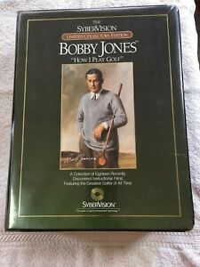 """Bobby Jones """"How I Play Golf"""" Syber vision Limited Collectors Edition ~ Complete"""